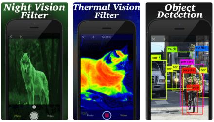 night vision thermal camera