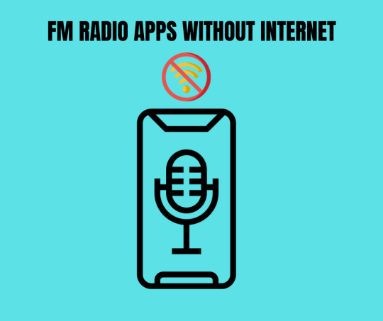 radio apps without internet