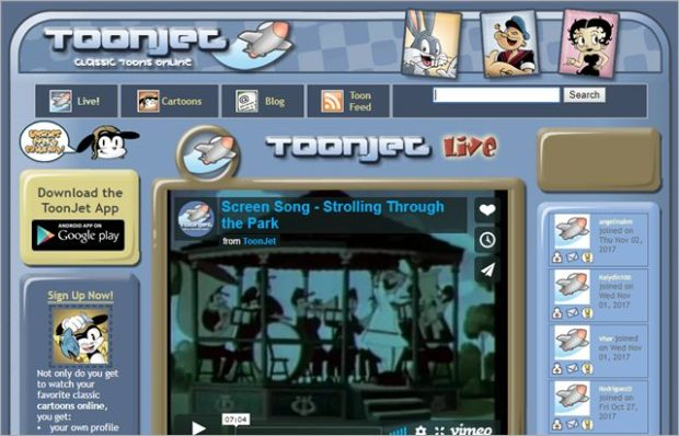 toonjet Websites Like CartoonCrazy