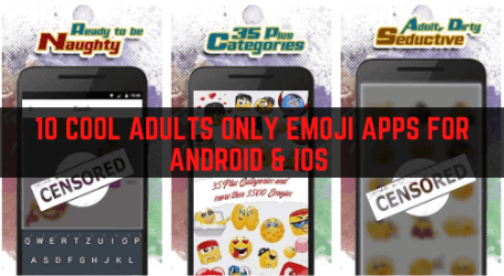 Adults Only Emoji Apps