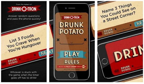 Drunk Potato A Drinking Game