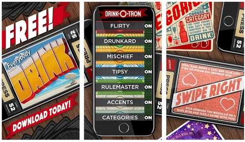 drink o tron free drinking game app