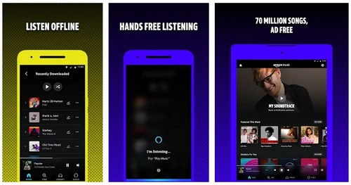 Amazon Music cache app