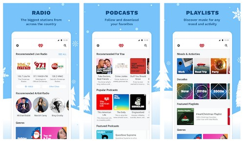iHeartRadio Radio app