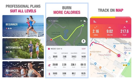 Running to Lose Weight and Distance Tracker