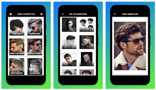 Boys Men Hairstyles and Hair Cuts 2020
