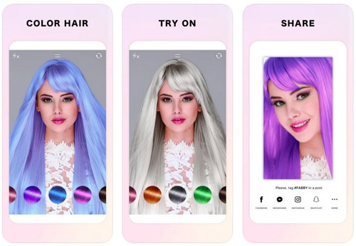 Fabby LookHair Color Editor