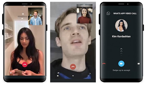 Fake Celebrity Video Call