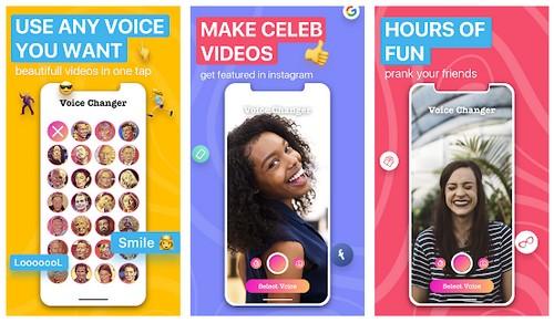 Voicer -Celebrity Voice Changer