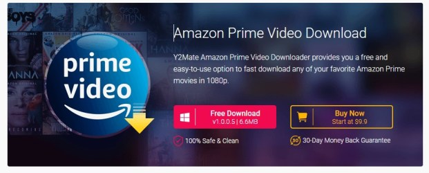 Y2mate amazon prime video downloader