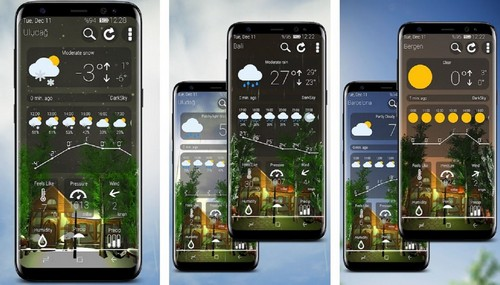 Animated 3D Weather app