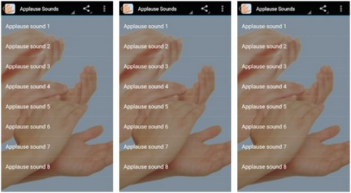 Applause Sounds effects app
