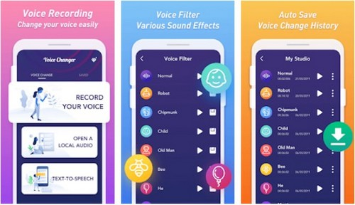Funny Voice Changer Sound Effects app