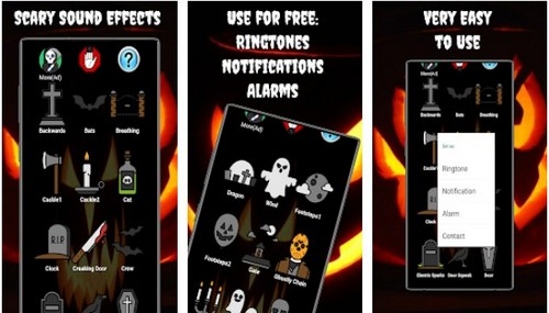 Scary Sound Effects app