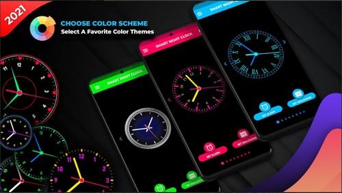 Smart Night Clock screen saver app