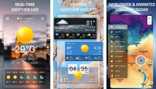 Weather App Weather Forecast Weather Live