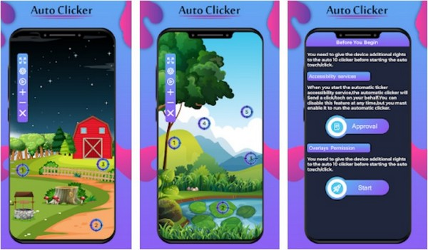 Auto Clicker – Automatic Tap Easy Touch