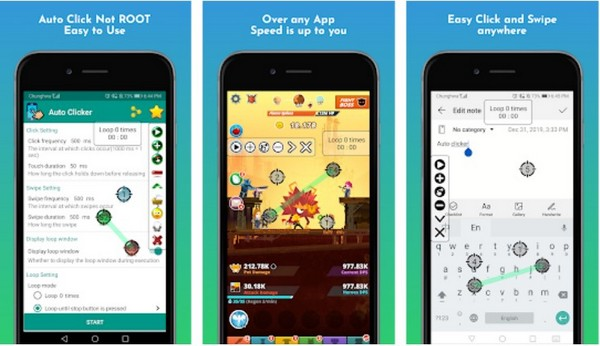 Game master - Auto Clicker -Tapping
