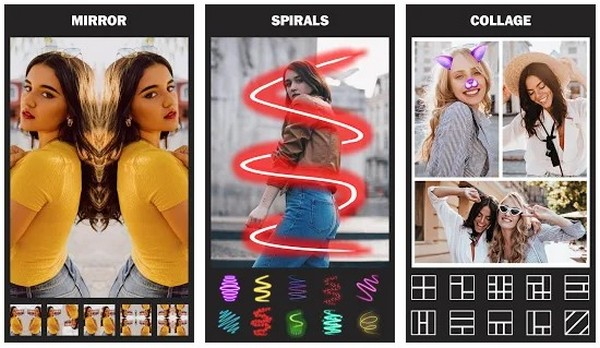 Mirror Photo Editor Collage Maker Beauty Camera