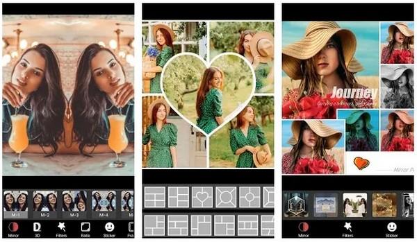 Photo Editor ProMirrorApp Collage Maker-MirrorPic