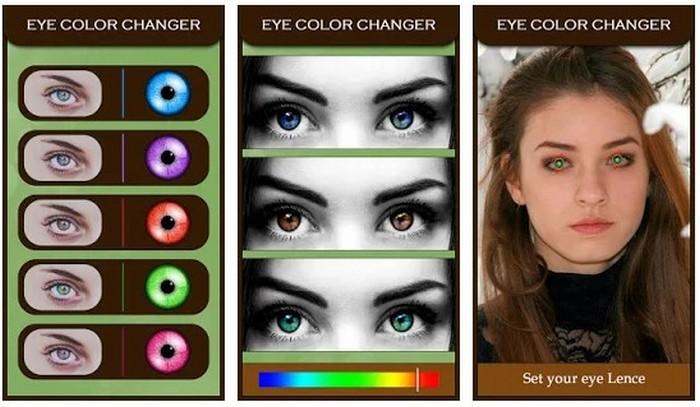 Eye Color Changer Eye Lens Photo Editor