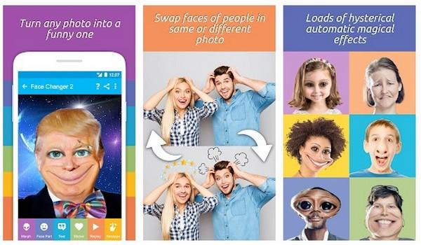 Face Changer 2 app