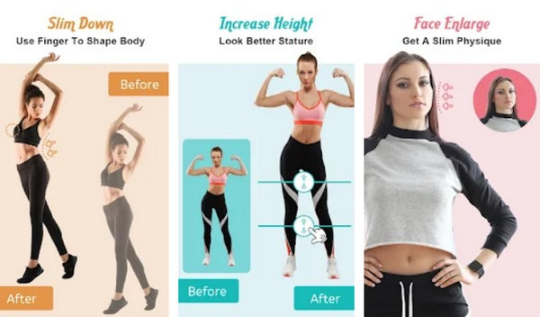 Body Shape Editor to reshape your face