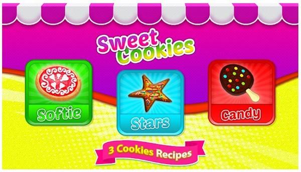 Cooking Games Sweet Cookies