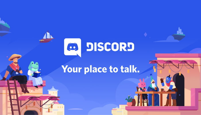 Discord your placed to talk