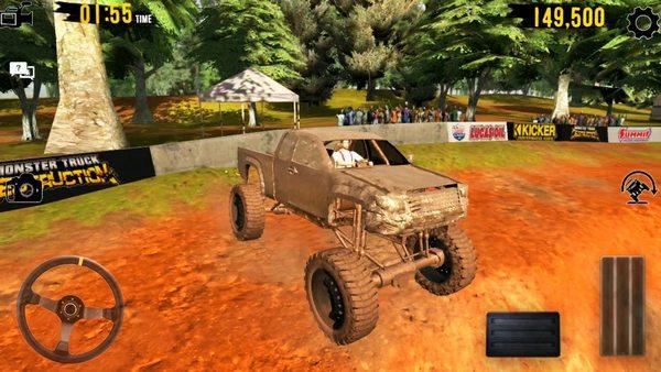 Mud Bogger Monster Truck Race