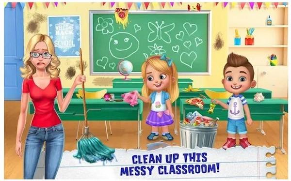 My Teacher Classroom Play
