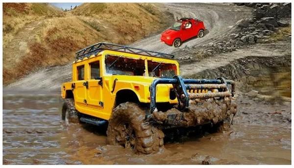 Offroad Driving Simulator 4x4 Jeep Mudding