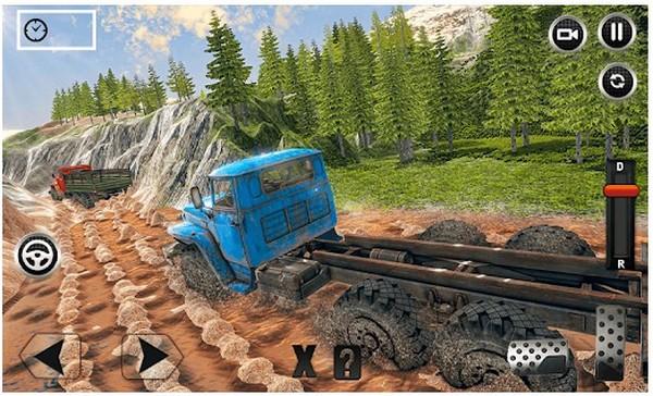 Offroad Mud Truck Driving Sim