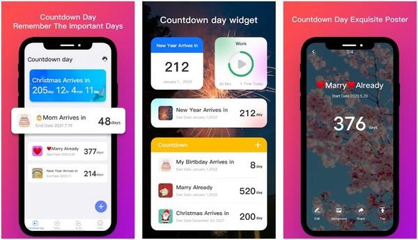 Online Countdown Days App
