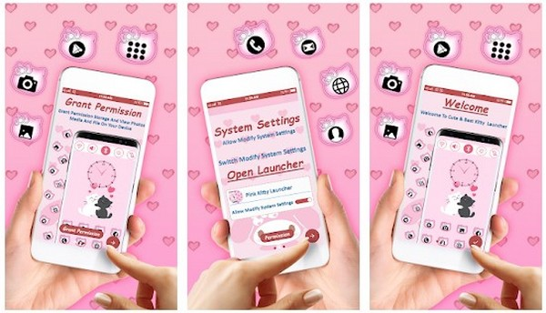 Pink Kitty Launcher