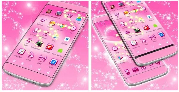 pink themes free for android