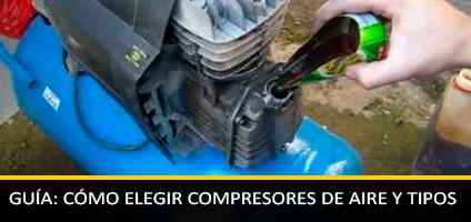 Guía: Cómo Elegir Compresores de Aire Industriales o Domésticos, Tipos y Características