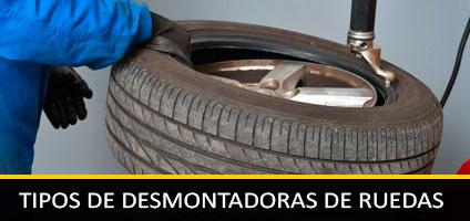 Tipos de Desmontadoras y Equilibradoras de Ruedas para Coches, motos y furgonetas