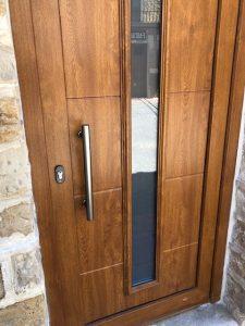 Instalación puerta entrada 2 Santacara