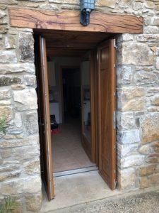 Colocación puerta Olleta 2