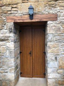 Colocación puerta Olleta 3