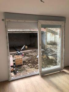 Instalación puerta osciloparalela 4