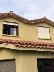 Instalación cortinas exteriores en salinas