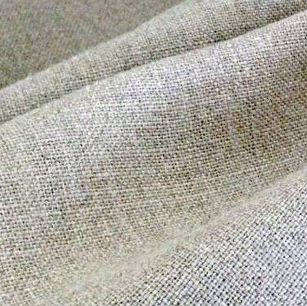 tissu lin naturel toile lin 500g