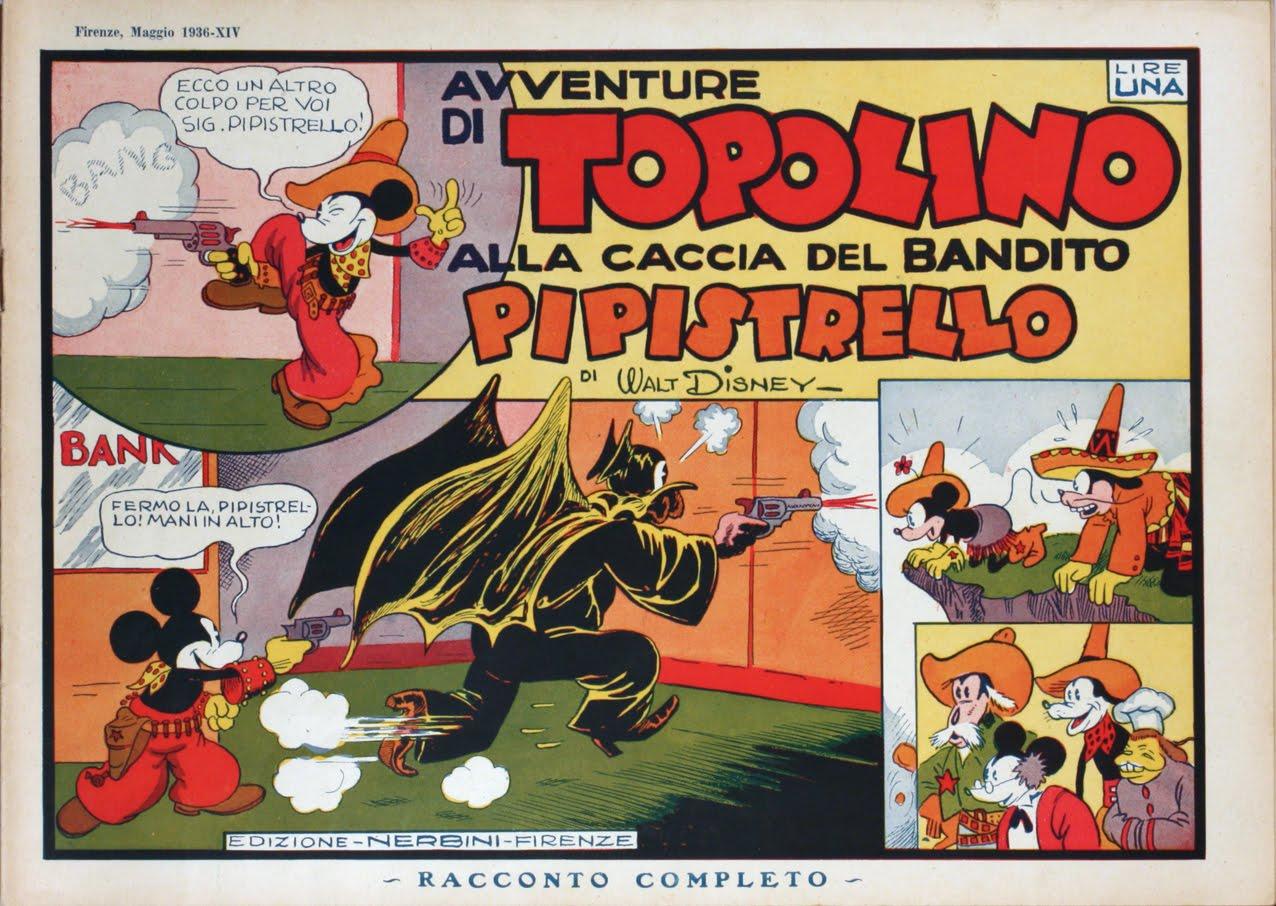 La strana vicenda di Topolino durante il fascismo