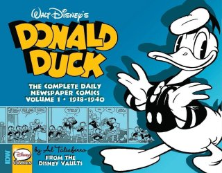 Donald Duck The complete Daily Newspaper Comics Volume 1.