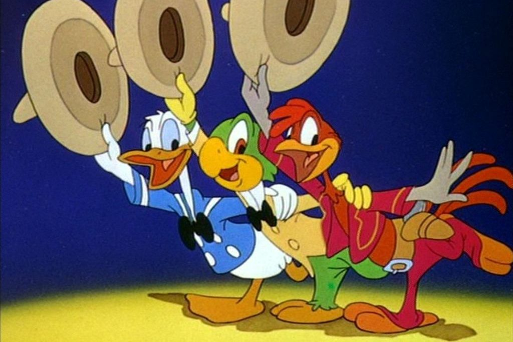 tre caballeros