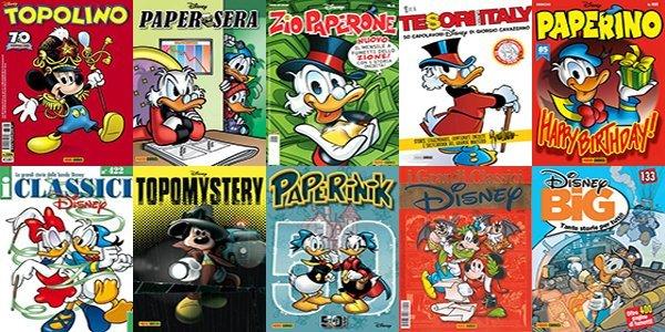 L'elenco completo delle testate Panini Comics 2019