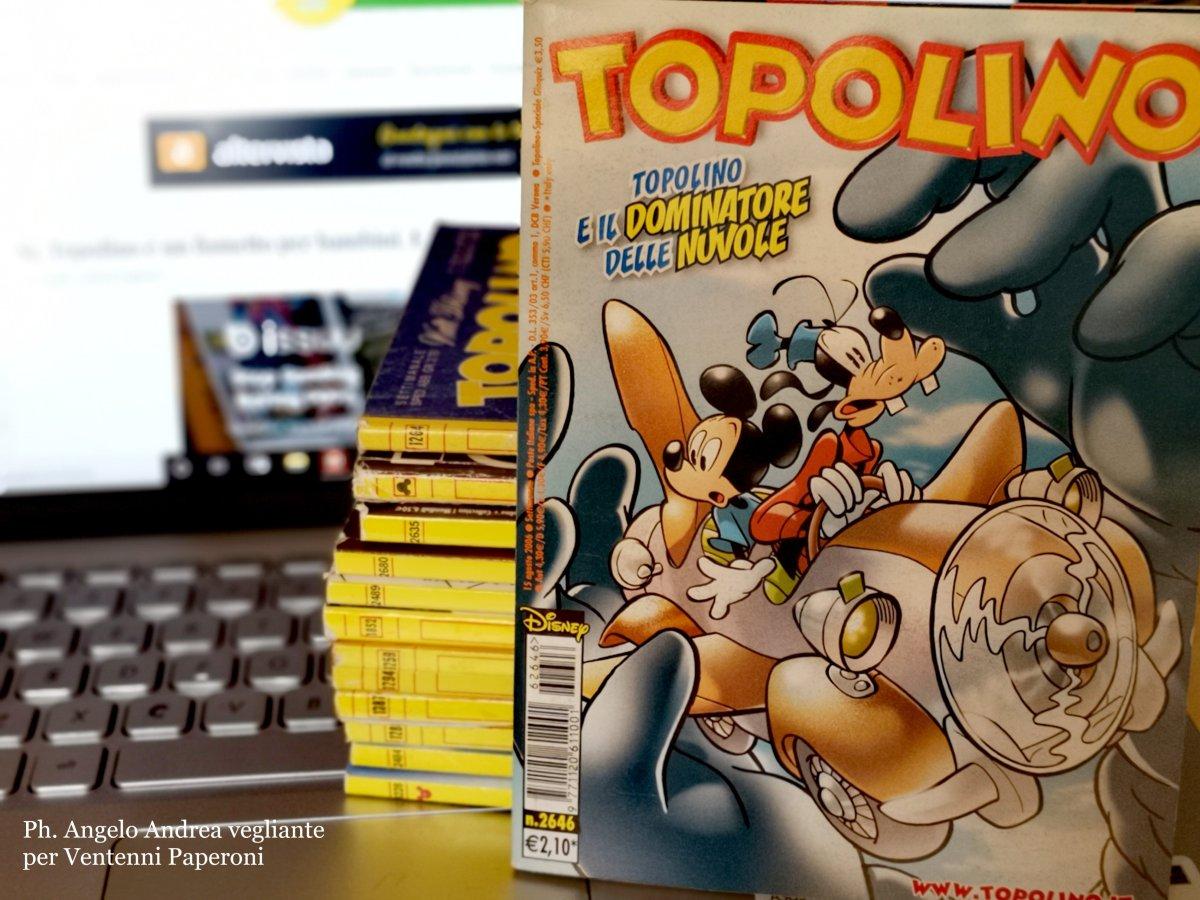 Topolino è un fumetto per bambini