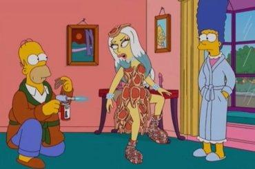 I Simpson e Lady Gaga